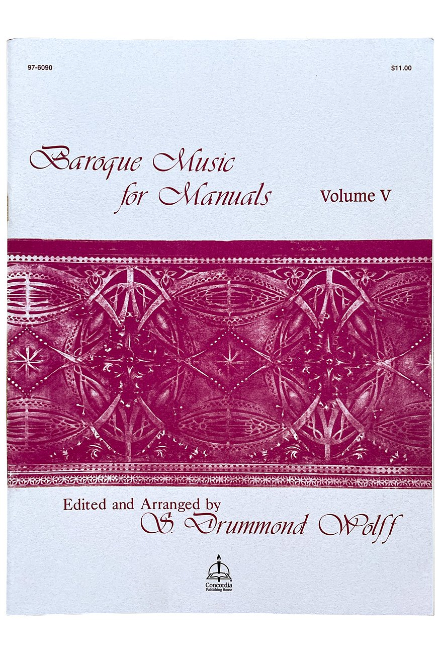 Baroque Music for Manuals, Vol. V