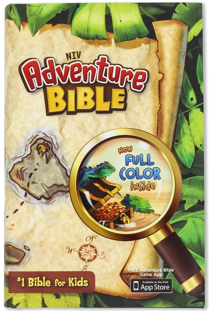 NIV Adventure H/C Colour