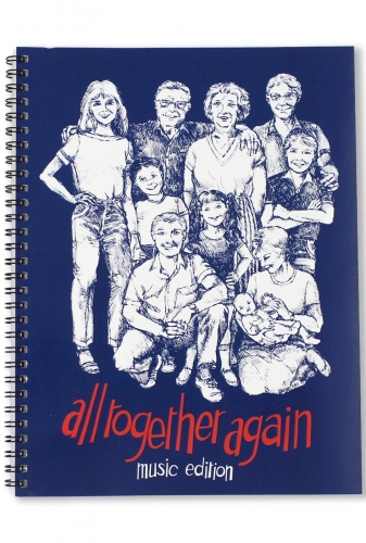 All Together Again  Music Book Blue
