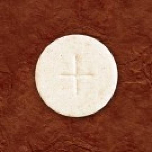 """Altar Bread White 1 3/8"""" Box of 1000"""
