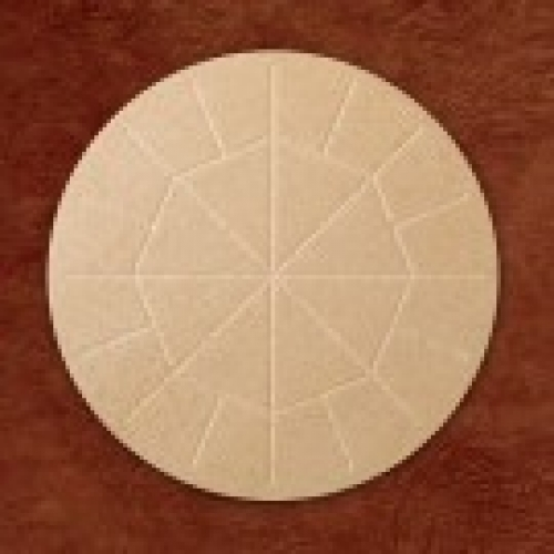 """Altar Bread Wholewheat  5 3/4"""" Box of 25"""