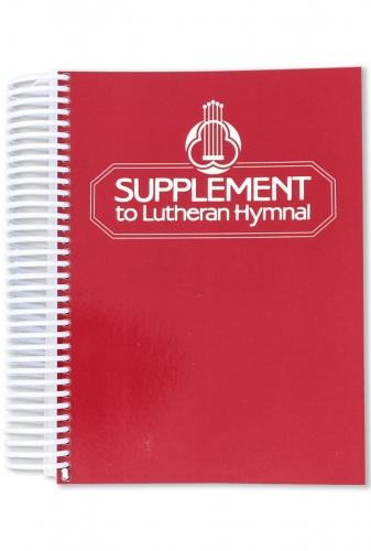 Lutheran Hymnal Supplement Harmony Edition