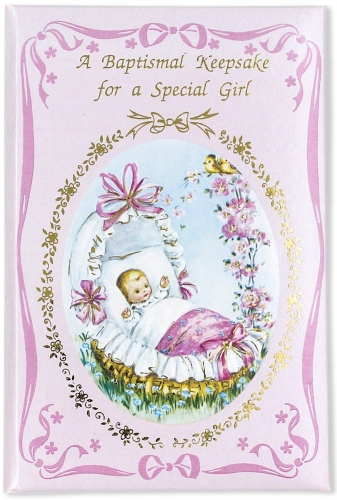 Baptismal Keepsake Girl