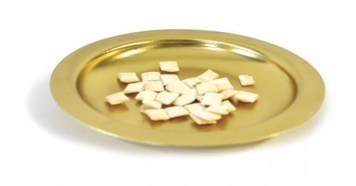 Bread Plate Brasstone 16cm diameter