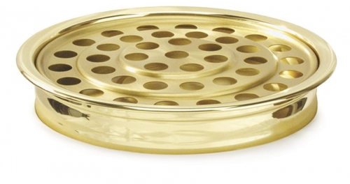 Communion Tray Brasstone 40 Cups, 30cm diameter