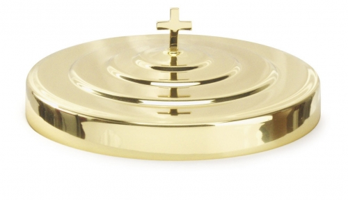 Communion Tray Cover Brasstone, Fits 40 Cup Tray
