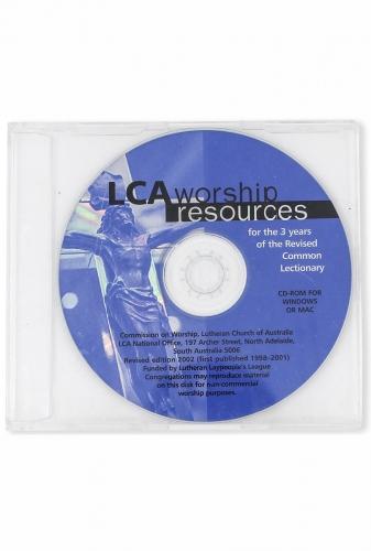 LCA Worship Resources CD