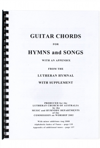Guitar Chords for Hymns and Songs