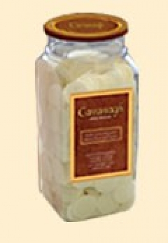 """Altar Bread Whole Wheat 1 1/8"""" Container of 1000"""