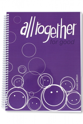 All Together for Good Music Book Purple