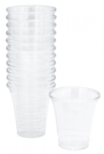 Communion Cups Clear Plastic, disposable, Box of 1000