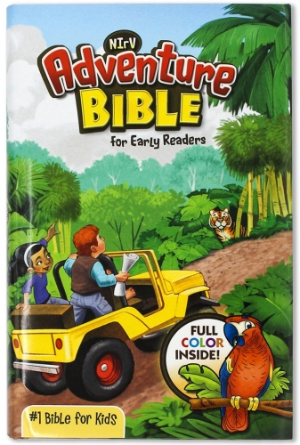 NIrV Adventure Bible book for early readers