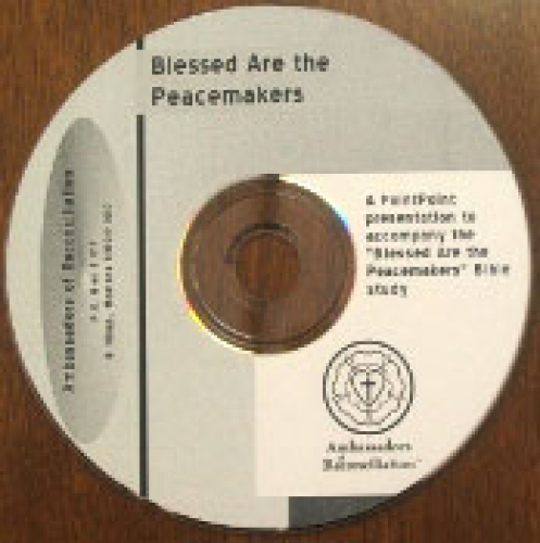 Blessed Are the Peacemakers Powerpoint CD