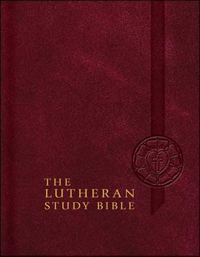 The Lutheran Study Bible with Thumb Index