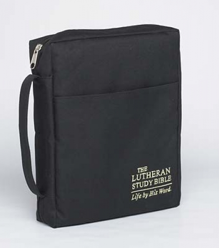The Lutheran Study Bible Cover - Black