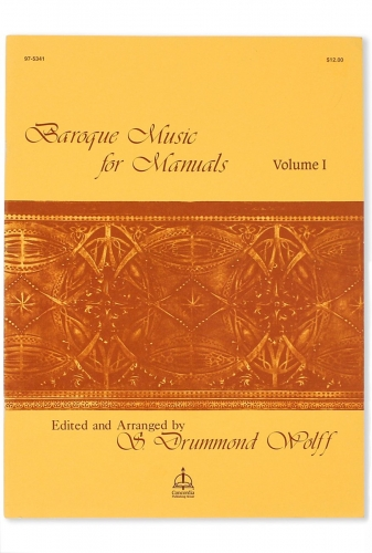 Baroque Music for Manuals, Vol. I