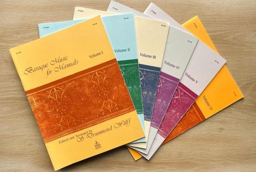Baroque Music for Manuals, Vol. II