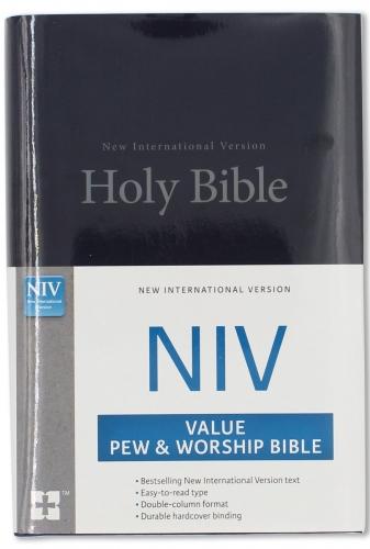 NIV value pew bible blue
