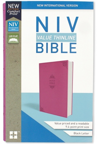 Bible NIV Value Thinline Pink