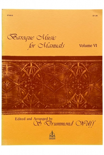 Baroque Music for Manuals, Vol. VI