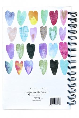 Journal Spiral Bound, Loved. Romans 5:8