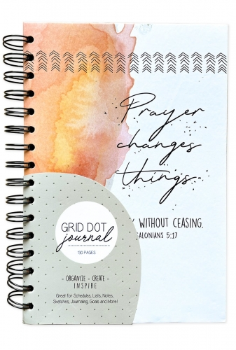 Journal Spiral Bound, Prayer Changes Things