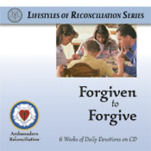 Forgiven to Forgive CD