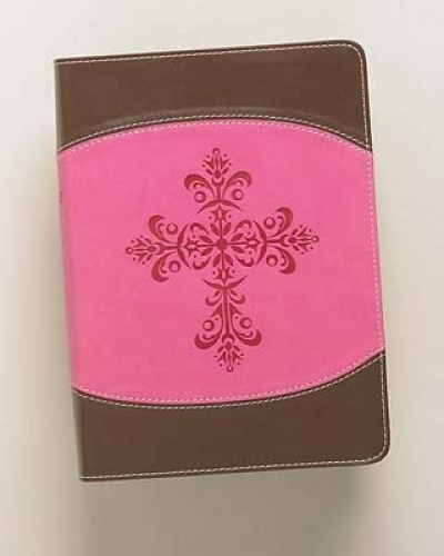 The Lutheran Study Bible - Compact DuoTone Pink/Chocolate ESV