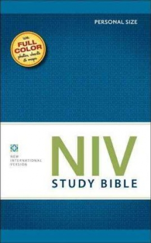 NIV study Bible red letter personal edition