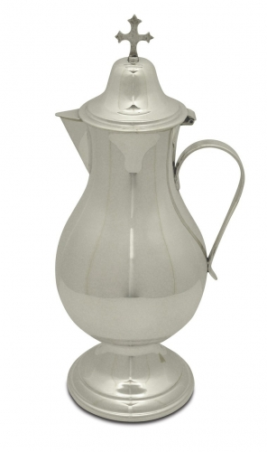 Flagon Silver Plate Gold Lined