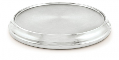 Communion Tray Base Silvertone