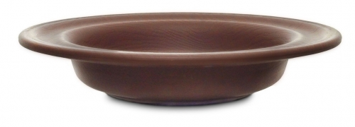 Offering Plate Dark Wood-Grain Finish