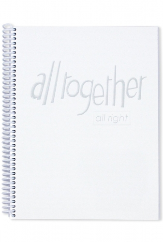 All Together All Right Music Book White