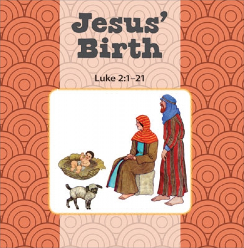 Jesus Birth / Simeon and Anna flip book