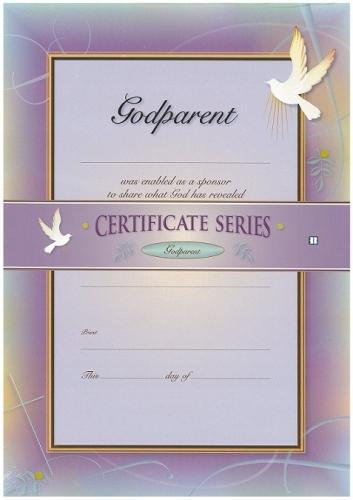 Certificate Godparent