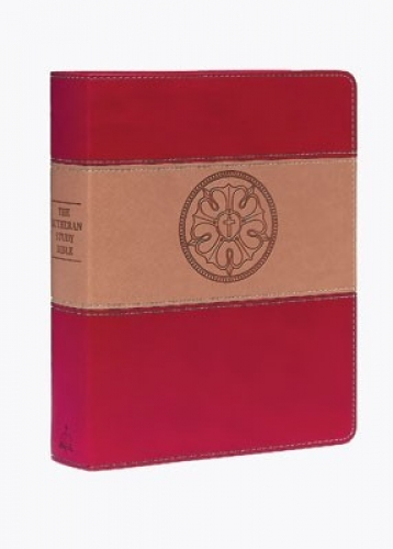 The Lutheran Study Bible Duo Tone Luther's Rose