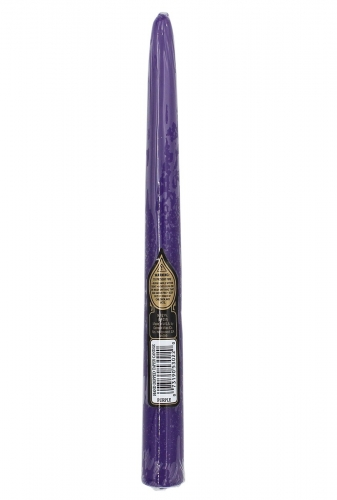 Candle Purple Taper 10""