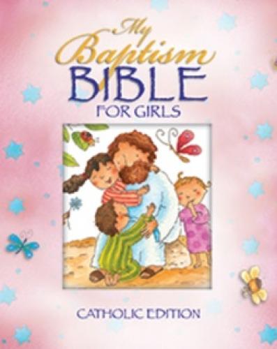My Baptism Bible for Girls Catholic Edition