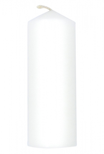 """Advent Candle White  6"""" X 3"""""""