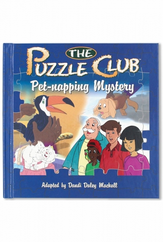 The Puzzle Club pet napping mystery.