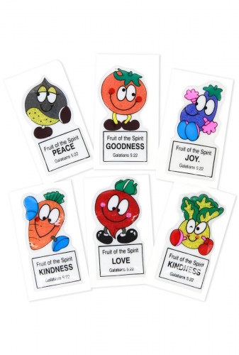 Puffy stickers Fruit of the Spirit