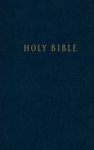 New Living Bible Pew Edition Hardcover Blue