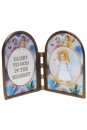 Stained Glass Ornament - Glory To God In The Highest
