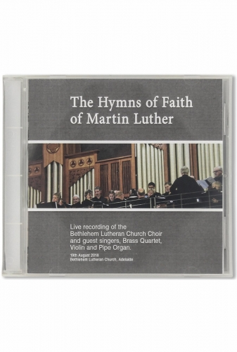 The Hymns Of Faith Of Martin Luther CD