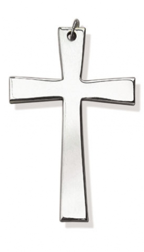Clergy Cross Silverplated Latin Design