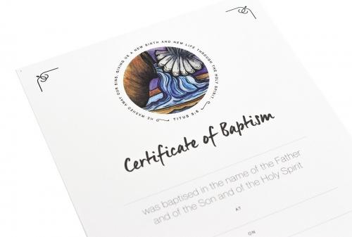 Certificate Baptism