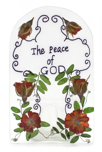 Candle holder The Peace of God
