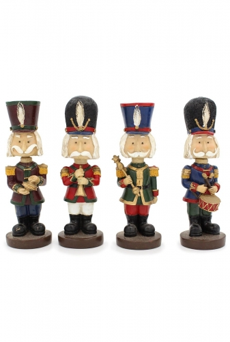 Musicans minstrels Set of 4