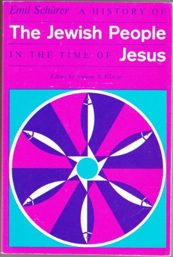 A History of the Jewish People in the time of Jesus (Used)