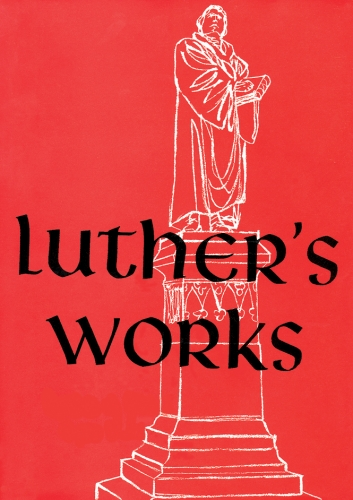 Luther's Works Volume 1 (Used)